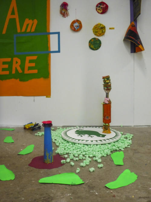 Detail installation view